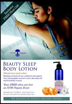 Fans everywhere rejoice! Beauty sleep body lotion is your Free Host Gift!