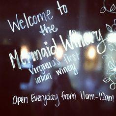 Mermaid Winery of Norfolk!