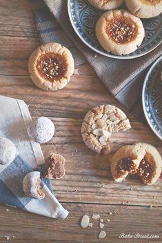 Galletas de almendra, jengibre, caramelo y canela - Bake-Street.com
