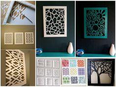 Arte creativo de decoración de paredes