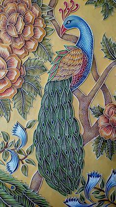 Colorful Mandala and Zentangle Art Inspiration Mural Painting, Persian Art Painting, 3d Relief Art, Mural Art, Sketch Painting, Mural Wall Art, Madhubani Painting, Folk Art Painting, Peacock Art