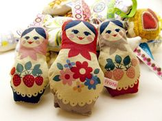 Russian Doll Matryoshka Lavender bag UK aromatic. £6.25, via Etsy.