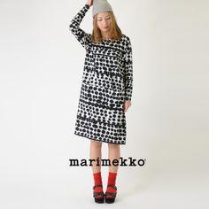 【楽天市場】marimekko マリメッコ Tikat ティカト/NIMLA カットソーワンピース・5243140289(全2色)(XS・S)【2014春夏】:Crouka(クローカ)