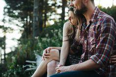 Portland Wedding Photographer // Julie+Nate Oregon Coast Engagement » Phil Chester