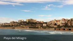 Places to see in ( Tarragona - Spain ) Playa del Milagro  Miracle Beach ( Playa del Milagro ) is one of several beaches that are in the city of Tarragona . There is easy access to different places. The most widely used is the access from the top of the Rambla Nova the steps for opening on each side of the Mediterranean Balcony  a beautiful gazebo and higher where you can see from the aerial view of the full extension of Playa del Milagro  the sea and part of the port of Tarragona. Access to…