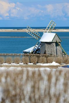 Shore Rd. in Winter #Chatham #CapeCod © Christopher Seufert Photography