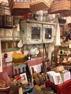 Antique hunting in Derbyshire