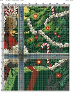 Santa is coming Home 6/6 [Pattern / Chart] [Christmas - Cross Stitch]