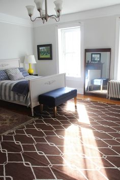 Teen Boy Room Reveal - wall color BENJAMIN MOORE HORIZON