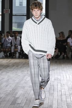 N.Hoolywood Spring 2018 Menswear Collection Photos - Vogue