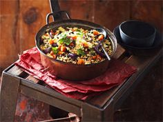 Roasted Vegetable Cous Cous recipe - New Idea Magazine - Yahoo!7 Lifestyle