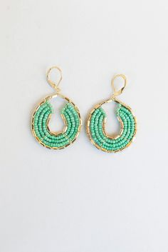 Meant to type Zumba.com but went to umba.com by mistake--to my delight! Byzantine Earrings