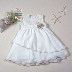 Vestido de bebe bautizo ARTESANIA AMAYA modelo 97021 (BAJO PEDIDO)