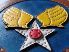 us army air forces leather patch