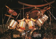 Eric Carr's first KISS show. (1980)    I was here at the Palladium in NYC!!!!!
