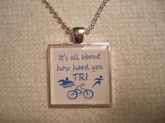 Triathlon Pendant
