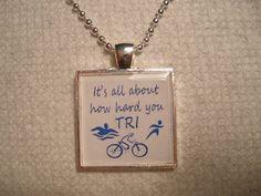 Triathlon Pendant