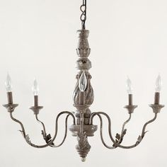 One of my favorite discoveries at WorldMarket.com: Grey Vintage Chandelier