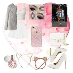 """• Ariana Grande OOTD"" by summertastic101 ❤ liked on Polyvore featuring RED Valentino, Chanel, Skinnydip, Qupid and Aamaya by priyanka"