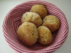 Pinaattisämpylät 20 Min, Muffin, Potatoes, Vegetables, Breakfast, Food, Morning Coffee, Potato, Essen