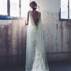 Bohemio y romantico a partes iguales, de Sole Alonso http://ideasparatuboda.wix.com/planeatuboda #weding #boda #mariage