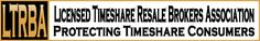Broker Larry Hayden is a Charter Member of the Licensed Timeshare Resale Brokers Association (LTRBA) My website is www.AllTimeshare.com where sellers can get a free market value for timeshare, and buyers can search for great buys in our database of thousands of resale listings. Specialist in luxury timeshare brands - Marriott, Hilton, Hyatt, Four Seasons + more. Phone (800) 297-0977 x 101.