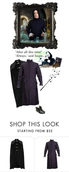 """""""""""Always"""" - Severus Snape"""" by marialay ❤ liked on Polyvore featuring Temperley London, T.U.K. and ripalanrickman"""