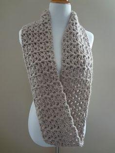 Free Crochet Pattern...Pavement Infinity Scarf!.