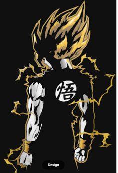 Super Saiyan God shirts Son Goku Dragonball Z by SaiyanGodShop