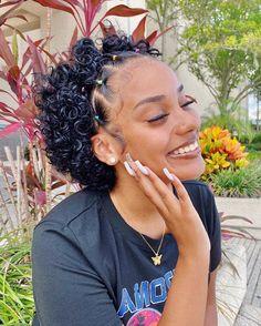 Baddie Hairstyles, Cool Hairstyles, Black Women Hairstyles, Natural Hair Tips, Natural Hair Styles, Dyed Natural Hair, Cute Short Natural Hairstyles, Hair Journey, Hair Looks
