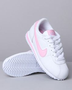 Nike Cortez White And Pink