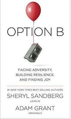 'Option B: Facing adversity, building resilience, and finding joy,' by Sheryl Sandberg and Adam Grant.