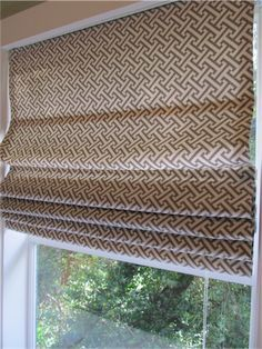 diy roman shades from miniblinds