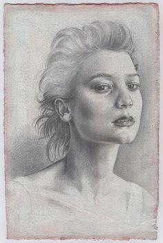 Portrait - Francesco Amatori    Silverpoint Drawing