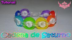 ♥ Tutorial: Cadena de Saturno (sin telar) ♥