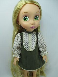 "Handmade outfit Dress for disney animator 16""Toddler doll"
