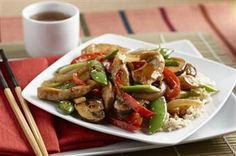 Stir-Fry Chicken and Vegetable Delight, Argo & Kingsford's Corn Starch