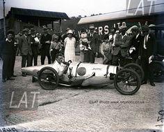 Jappic at Brooklands - 1925