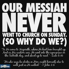 Do you think our Messiah taught a new religion? He kept the Sabbath because it was of the 10 commandments. Sabbath Rest, Sabbath Day, Jewish Sabbath, Saturday Sabbath, Bible Scriptures, Bible Quotes, Black Hebrew Israelites, Messianic Judaism, Seventh Day Adventist