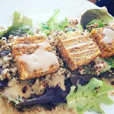 Just made the best wrap!!! Crispy Italian style tofu with quinoa and some honey mustard in a Joseph's flat wrap! Yea this holiday weekend is proving to be amazing for new recipe ideas!!  #lunch #lunchtime #healthy #healthyeats #healthylife #healthymeals #cleaneats #cleaneating #eatclean #eatforabs #eattherainbow #fit #fitfam #fitfood #fitness #tofu #vegetarian #gains #gaintotrain #strongnotskinny