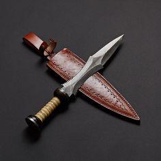 Damascus Steel Sword Knife // VK0209