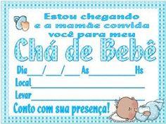 Convites de Chá de Bebê para IMPRIMIR - Gravidez - Assuntos gerais - Página 2 - BabyCenter Baby Center, Baby Shower, Invitation Birthday, Virtual Baby Shower, Diaper Invitations, Cakes Baby Showers, Baby Party, Personalized Invitations, Baby Sprinkle Shower