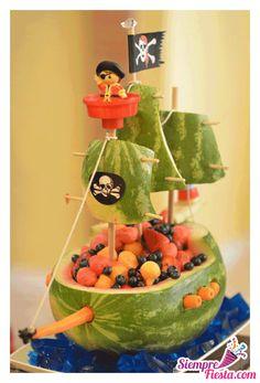 Ideas para fiesta de cumpleaños de Jake y los Piratas de Nunca Jamás. Encuentra todos los artículos para tu fiesta en nuestra tienda en línea. Entra aquí: http://www.siemprefiesta.com/fiestas-infantiles/ninos/jake-y-los-piratas-de-nunca-jamas.html?utm_source=Pinterest&utm_medium=Pin&utm_campaign=Jake