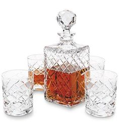 Quilted Decanter Set