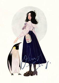 cute illustration by Nancy Zhang