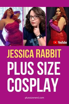 Go behind the costume with Jessica Rabbit Plus Size Cosplayers. These lovely ladies share their body positive message and their insider secrets. Plus Size Disney Clothes, Jessica Rabbit Dress, Plus Size Cosplay, Cosplay Outfits, Cosplay Girls, Plus Size Corset, Red Wigs, Best Cosplay, Female Cosplay