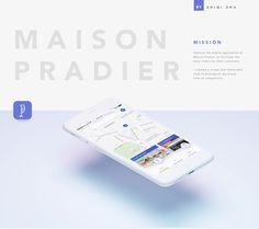 Consultez mon projet @Behance: \u201cMaison Pradier Application Mobile\u201d https://www.behance.net/gallery/52112179/Maison-Pradier-Application-Mobile