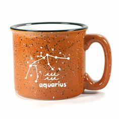 Aquarius Zodiac Constellation Mug