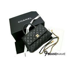 New Chanel Coco 9.5 Caviar Black GHW - Authentic Bag กระเป๋า ชาแนล โคโค่ สีดำ ไซส์ 9.5 สีดำ หูสีดำ มีสายยาว ถอดเก็บได้ ไซส์เล็กน่ารัก ถือก็หรู สะพายก็สวยคะใบนี้ อุปกรณ์ครบ  สนใจสอบถามได้นะค่ะ เบอร์ร้าน : (+66) 0991564992 ผึ้ง : (+66) 0632491456 Line : @9brandname Location : Paradise Park ฝั่งตึก Haha55 Website : www.9brandname.com #chanelthailand #chanel #chanelcoco #chanelcoco9caviar #chanelcaviar #chanelbagsph