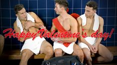 Valentine's Day - a time for love. Being single can suck, that is unless cupid's arrow finds its' way to your heart. See how two single bros turn a romantic . Now And Then Movie, Steam Room, Shirtless Men, Cupid, Movies Online, Sexy Men, Tv Series, Valentines Day, Comedy